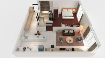 1 bed premier apartment