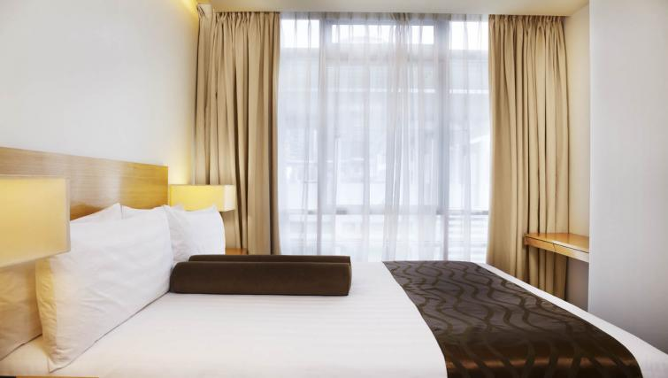 Homely bedroom at PARKROYAL Serviced Suites Kuala Lumpur