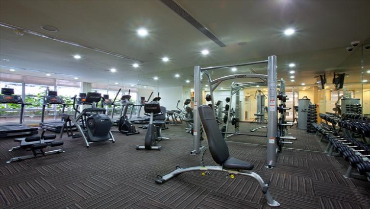 Gym at PARKROYAL Serviced Suites Kuala Lumpur