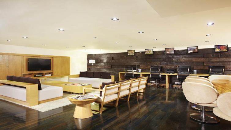 Large business centre at PARKROYAL Serviced Suites Kuala Lumpur