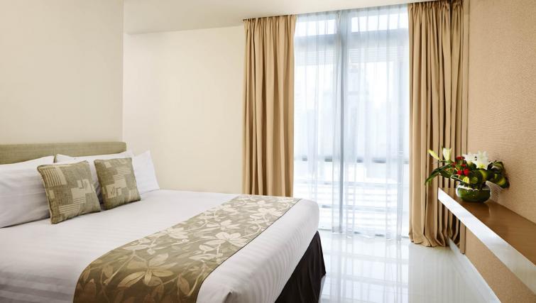 Comfy bedroom at PARKROYAL Serviced Suites Kuala Lumpur