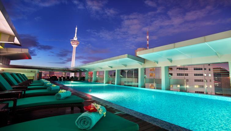 Swimming pool at PARKROYAL Serviced Suites Kuala Lumpur