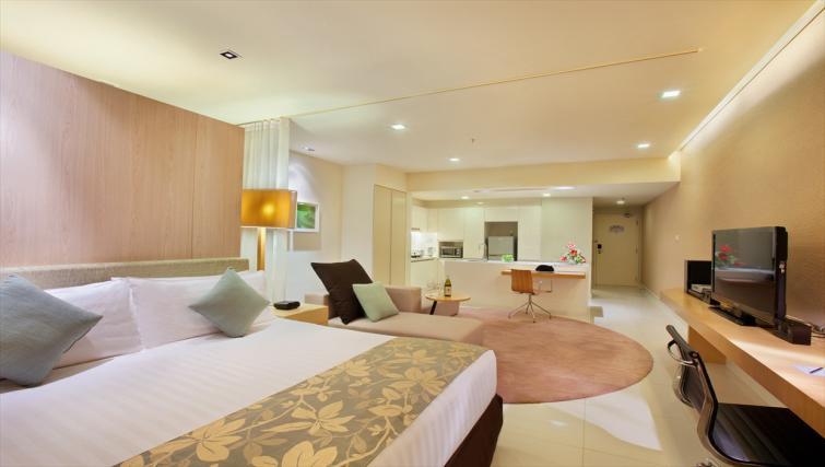 Studio apartment at PARKROYAL Serviced Suites Kuala Lumpur