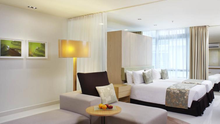 Comfortable bedroom at PARKROYAL Serviced Suites Kuala Lumpur