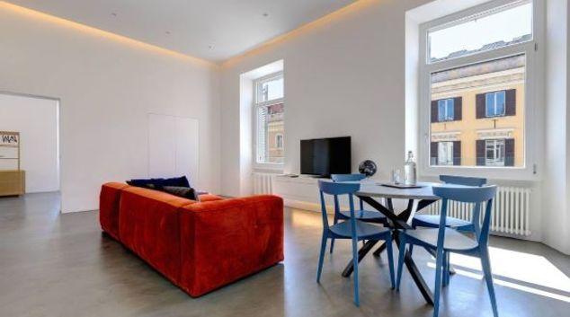 Living area at Psiche Rome Apartment, Centre, Rome