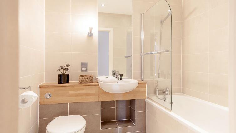 Bathroom at Marquis Court Apartments