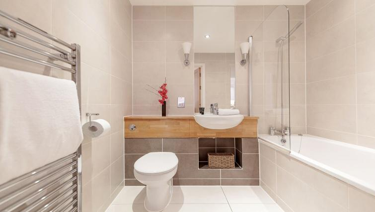 Bathroom in Marquis Court Apartments