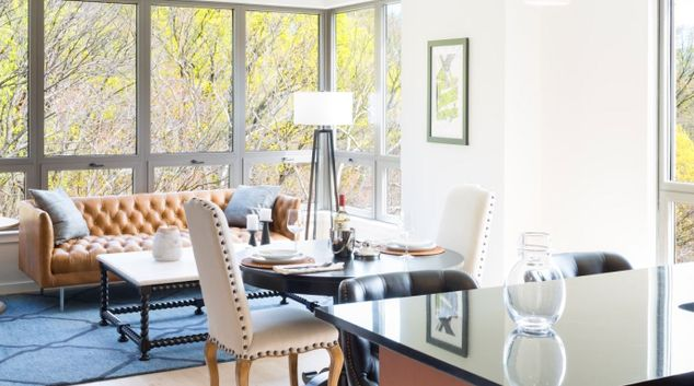Living Room at Park Van Ness