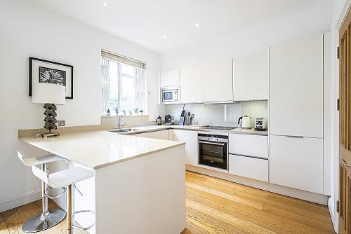 Kitchen at The Porchester Gardens, Bayswater, London