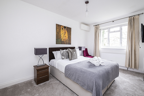 Bedroom at The Porchester Gardens, Bayswater, London