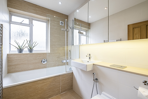 Bathroom at The Porchester Gardens, Bayswater, London