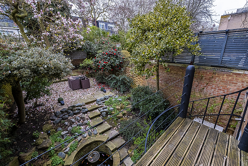 Balcony at The Porchester Gardens, Bayswater, London