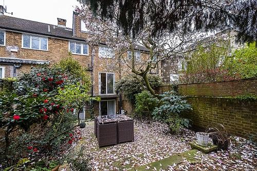 Garden at The Porchester Gardens, Bayswater, London