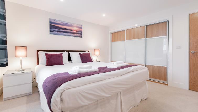 Bedroom at Capitol Square Apartments