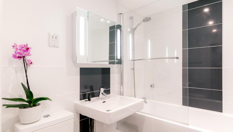 Bathroom at Capitol Square Apartments