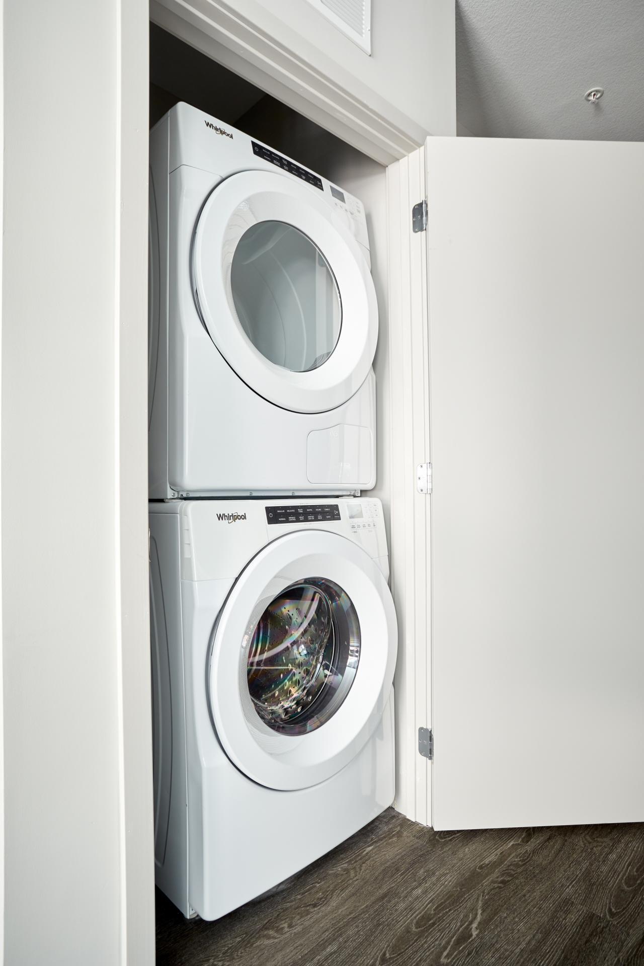Laundry at Luna Apartment, Cedar-Riverside, Minneapolis