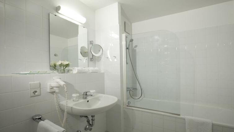 Bathroom at Lindner Congress Apartments Frankfurt