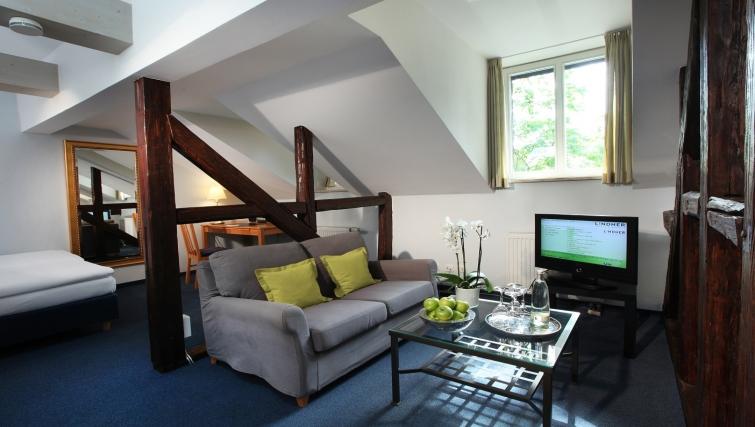 Living area at Lindner Congress Apartments Frankfurt