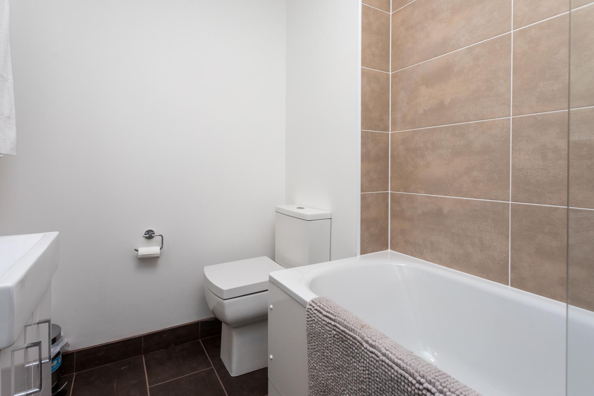 Bathroom at Sutherland Quarters, Three Bridges, Crawley