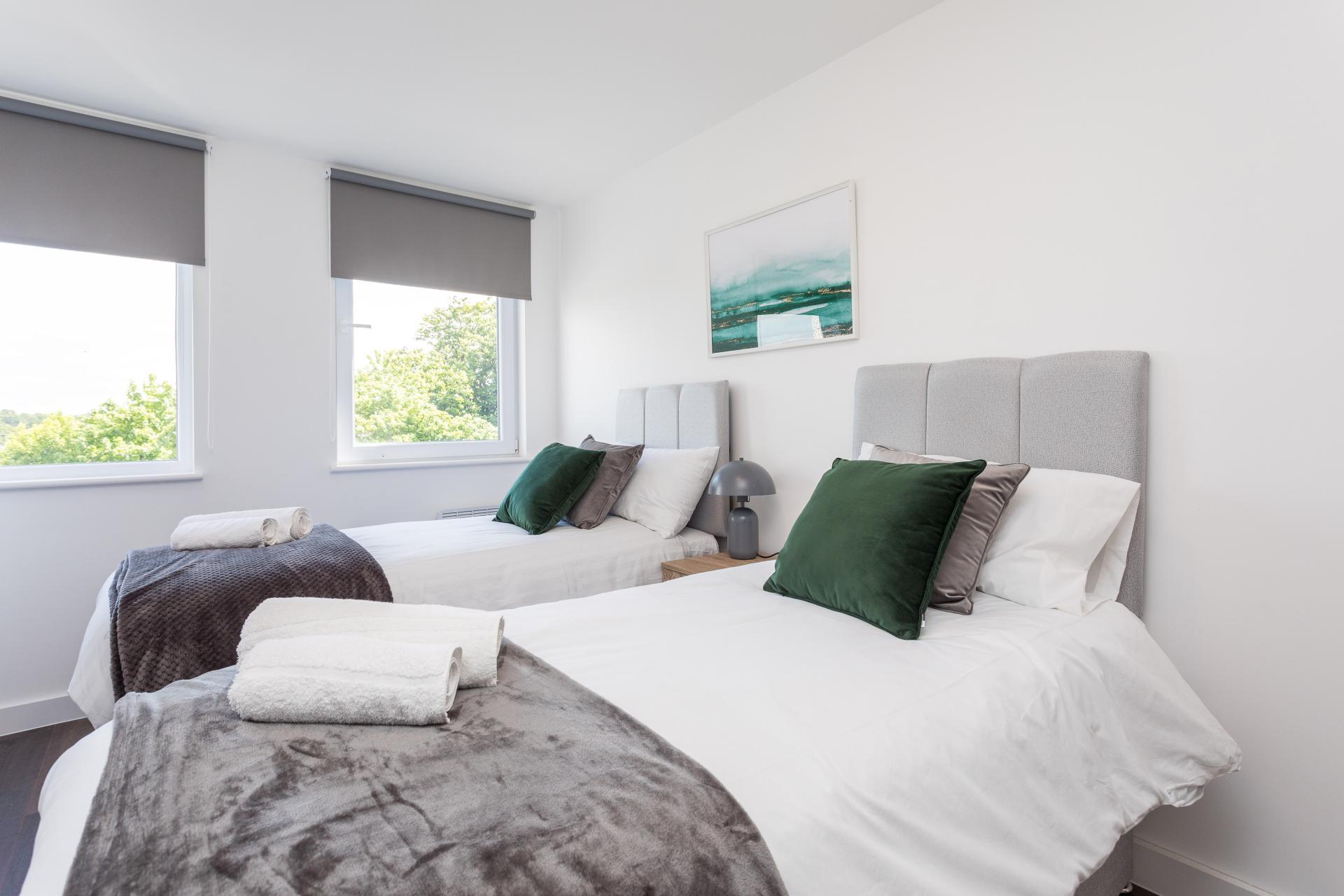 Beds at Sutherland Quarters, Three Bridges, Crawley