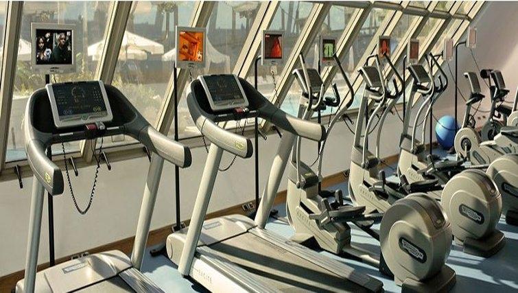 Extensive gym in InterContinental Cairo Citystars