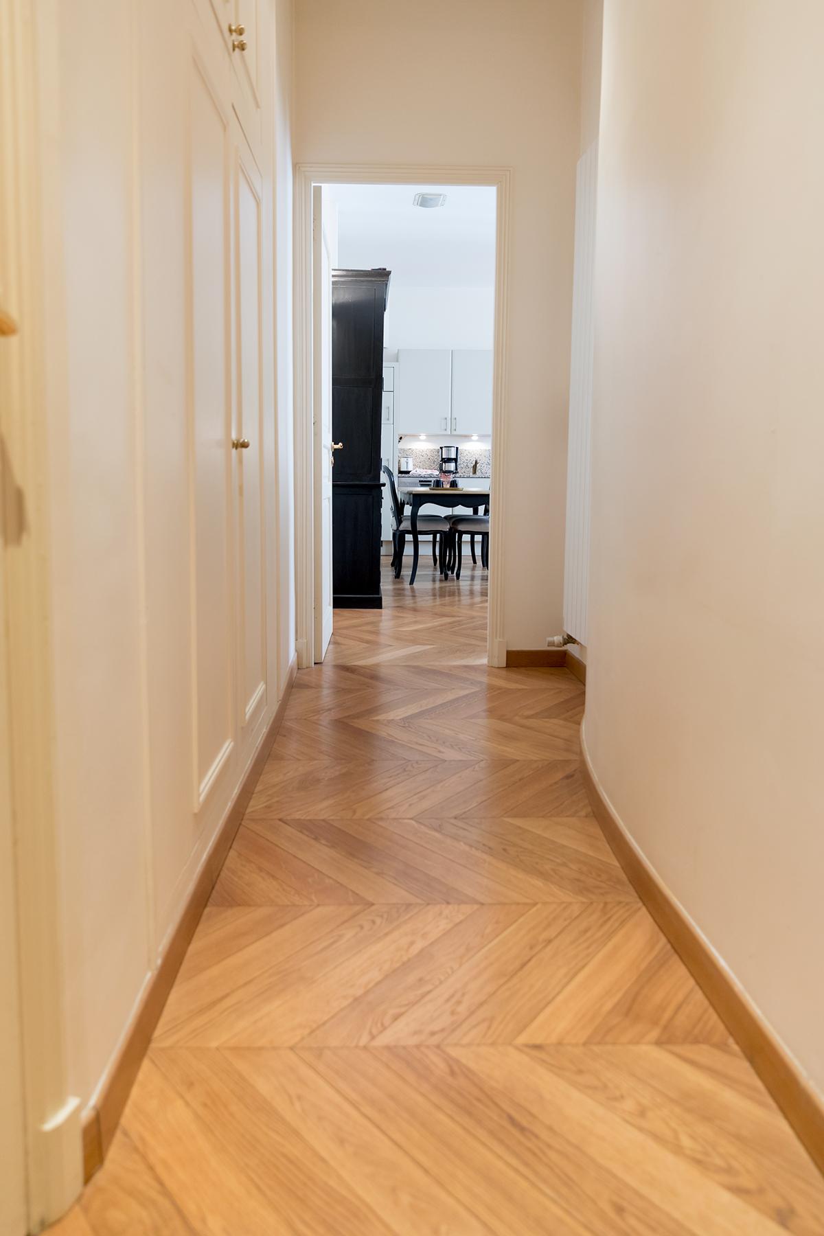 Hallway at Apartment Monceau Chic, 9th Arr, Paris