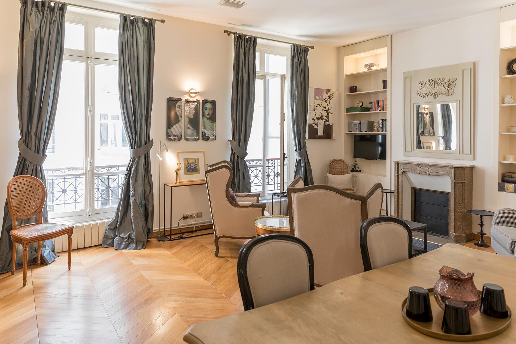 Windows at Apartment Monceau Chic, 9th Arr, Paris
