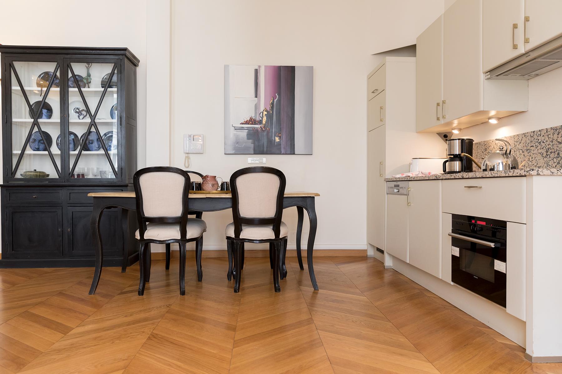 Kitchen at Apartment Monceau Chic, 9th Arr, Paris