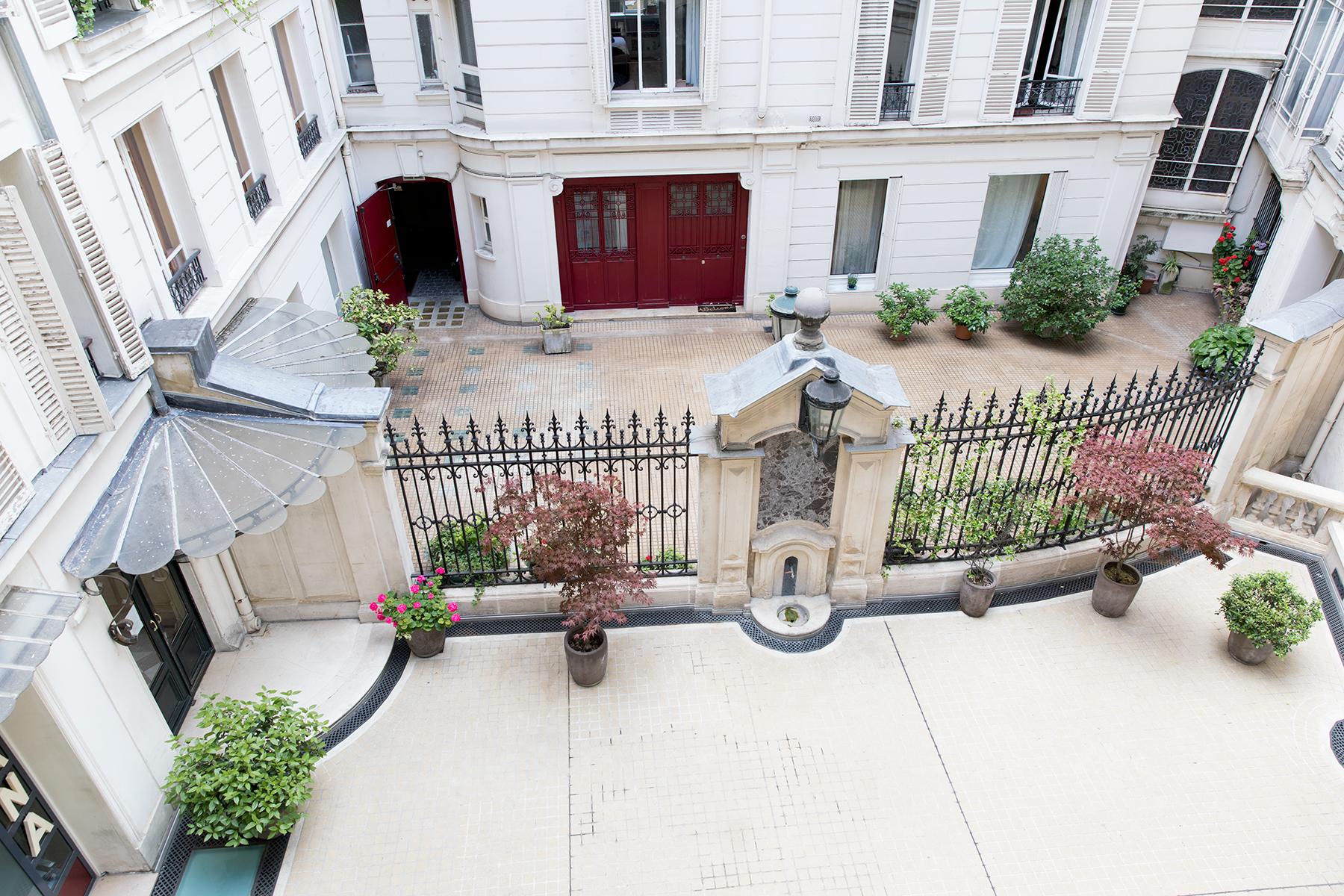 Exterior at Apartment Monceau Chic, 9th Arr, Paris