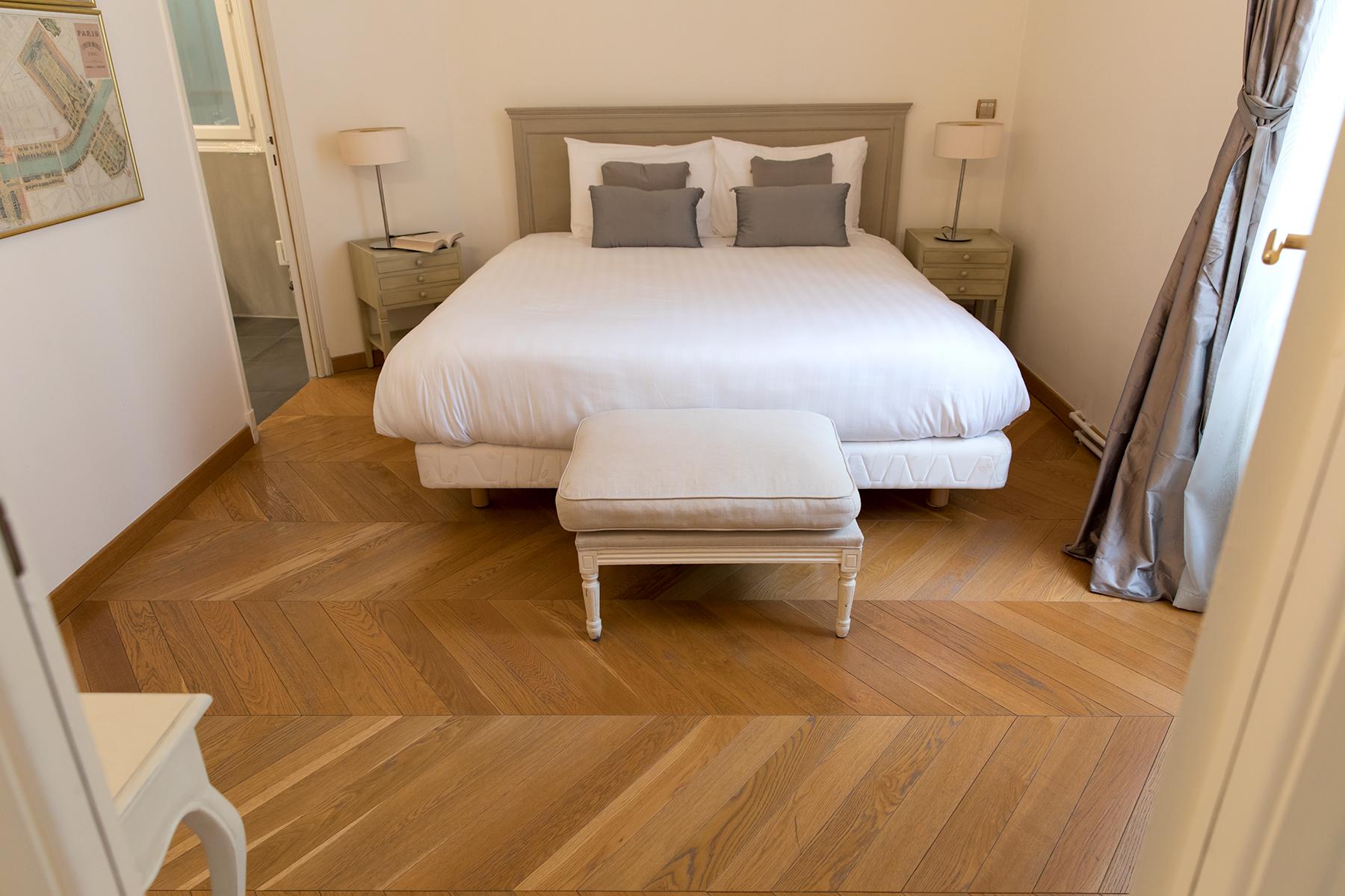 Bedroom at Apartment Monceau Chic, 9th Arr, Paris
