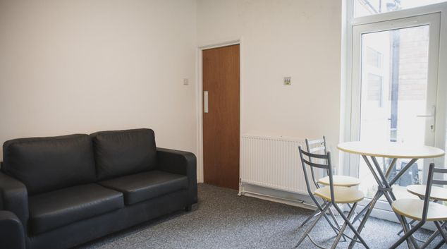 Living area at Leicester City House, Aylestone, Leicester