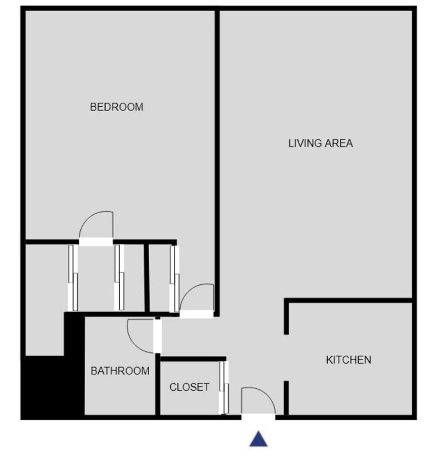 Floor plan of AVA Back Bay Apartments, Back Bay, Boston