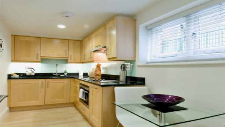 Smart kitchen in 38 James Street