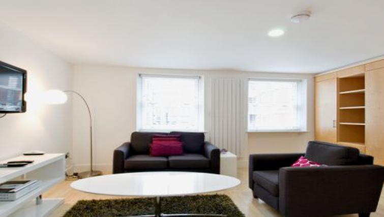 Attractive living area in 38 James Street