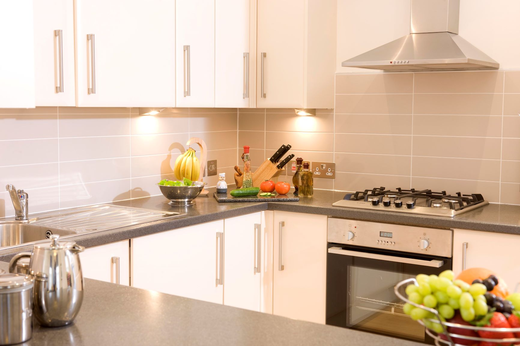 Kitchen at Inverness High Street Apartments, Centre, Inverness