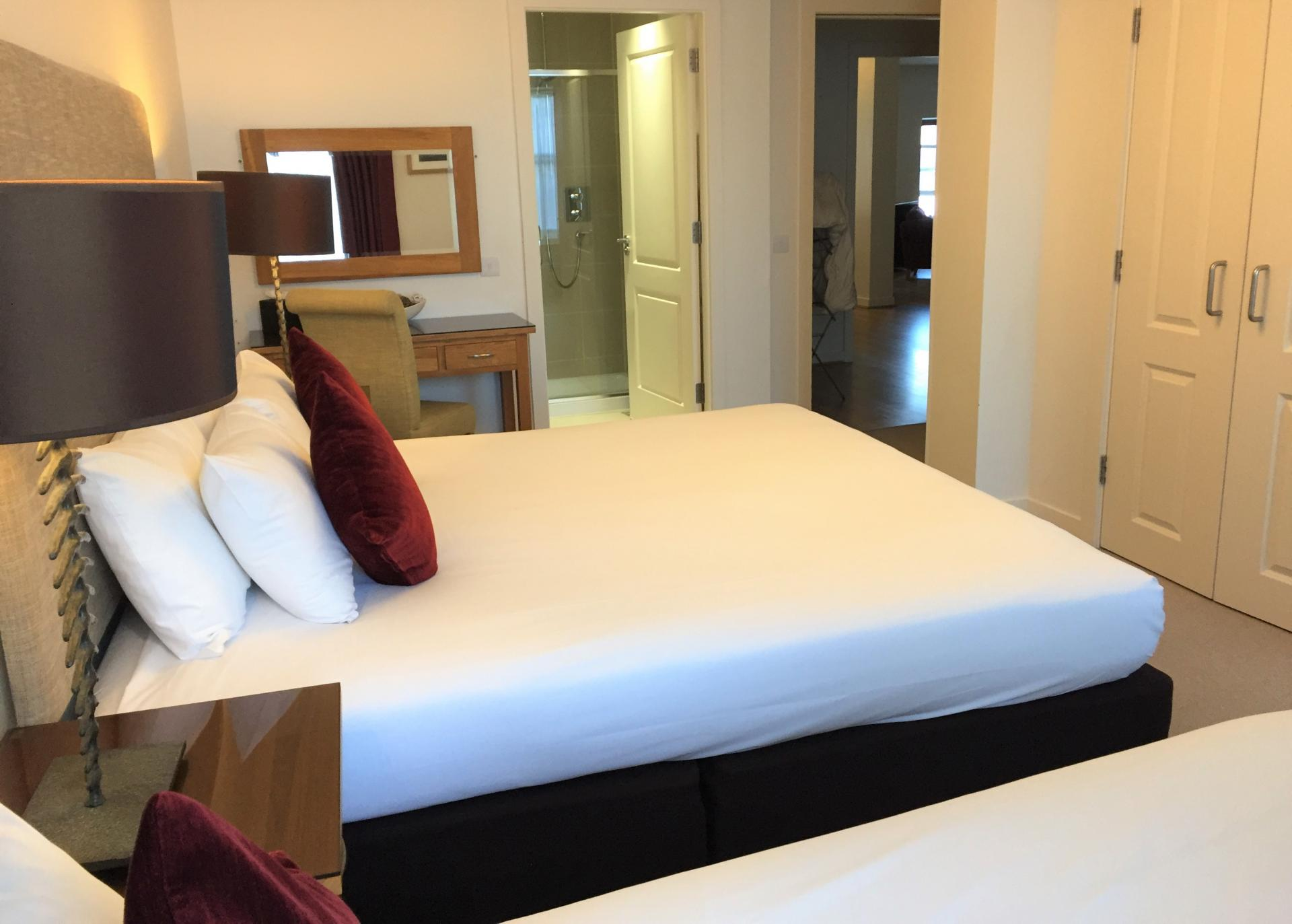 Bedroom at Inverness High Street Apartments, Centre, Inverness