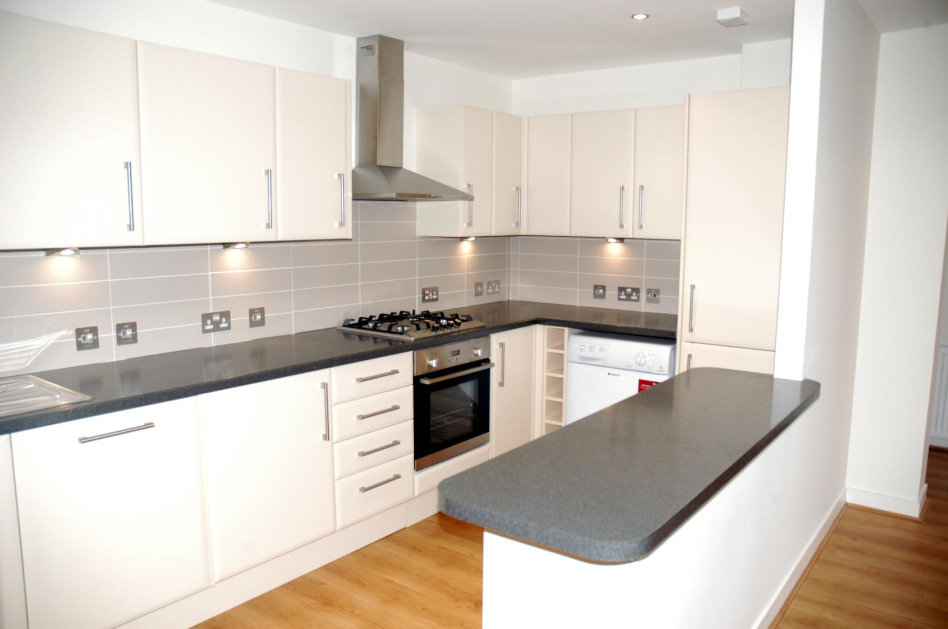 Modern kitchen at Inverness High Street Apartments, Centre, Inverness