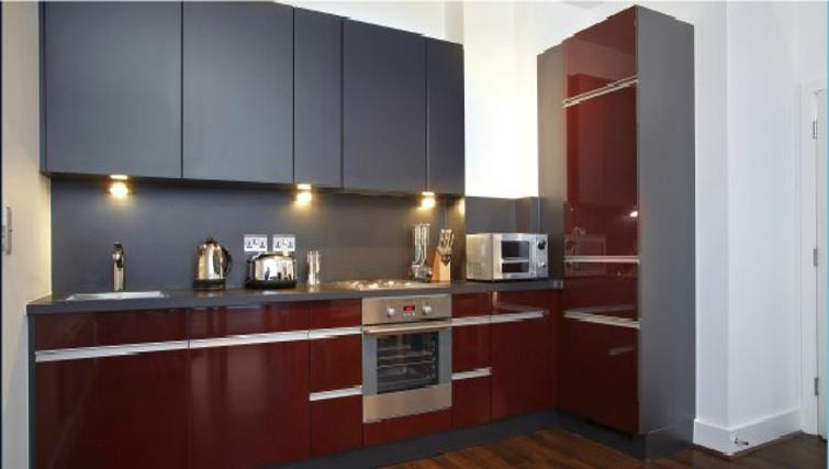Gorgeous kitchen in Skyline Plaza Apartments