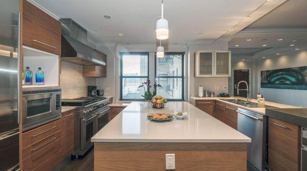 Kitchen at 70 E. Walton Apartments