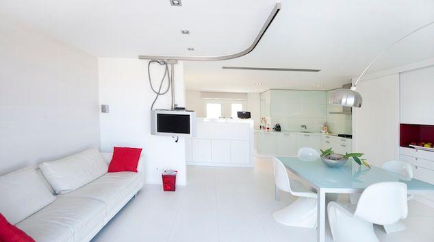 Living area at Carrer Diputacion Apartments, Eixample, Barcelona