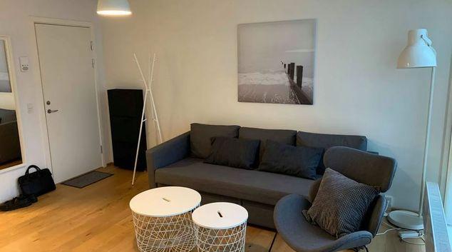 Living area at Mortensens Vej Apartment, Ørestad DO NOT USE, Copenhagen