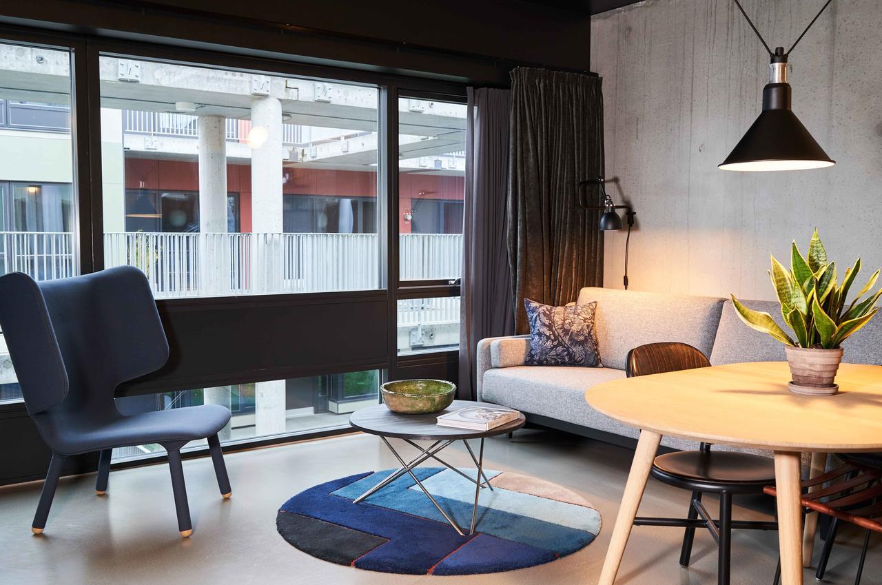 Living area at Tueager Apartment, Aarhus N, Aarhus