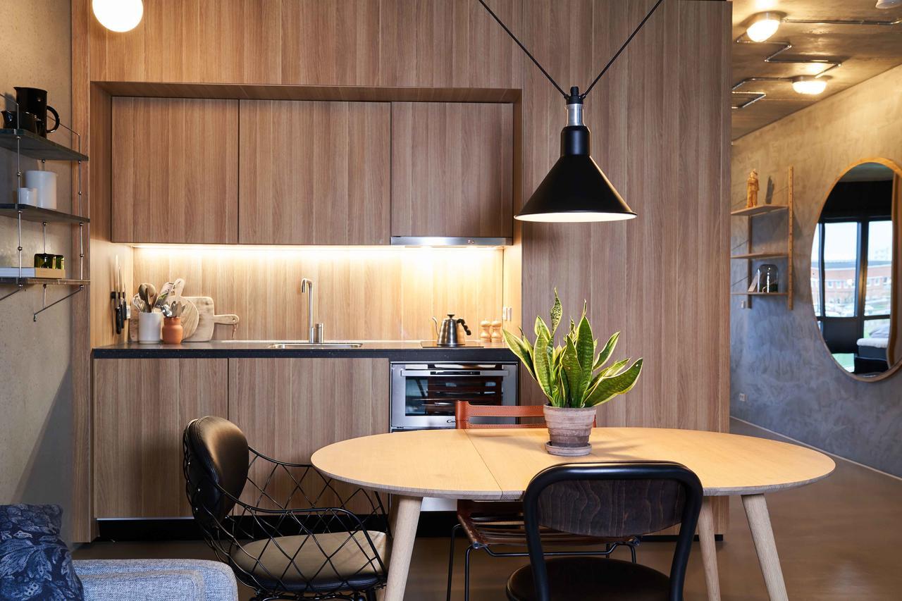 Kitchen at Tueager Apartment, Aarhus N, Aarhus