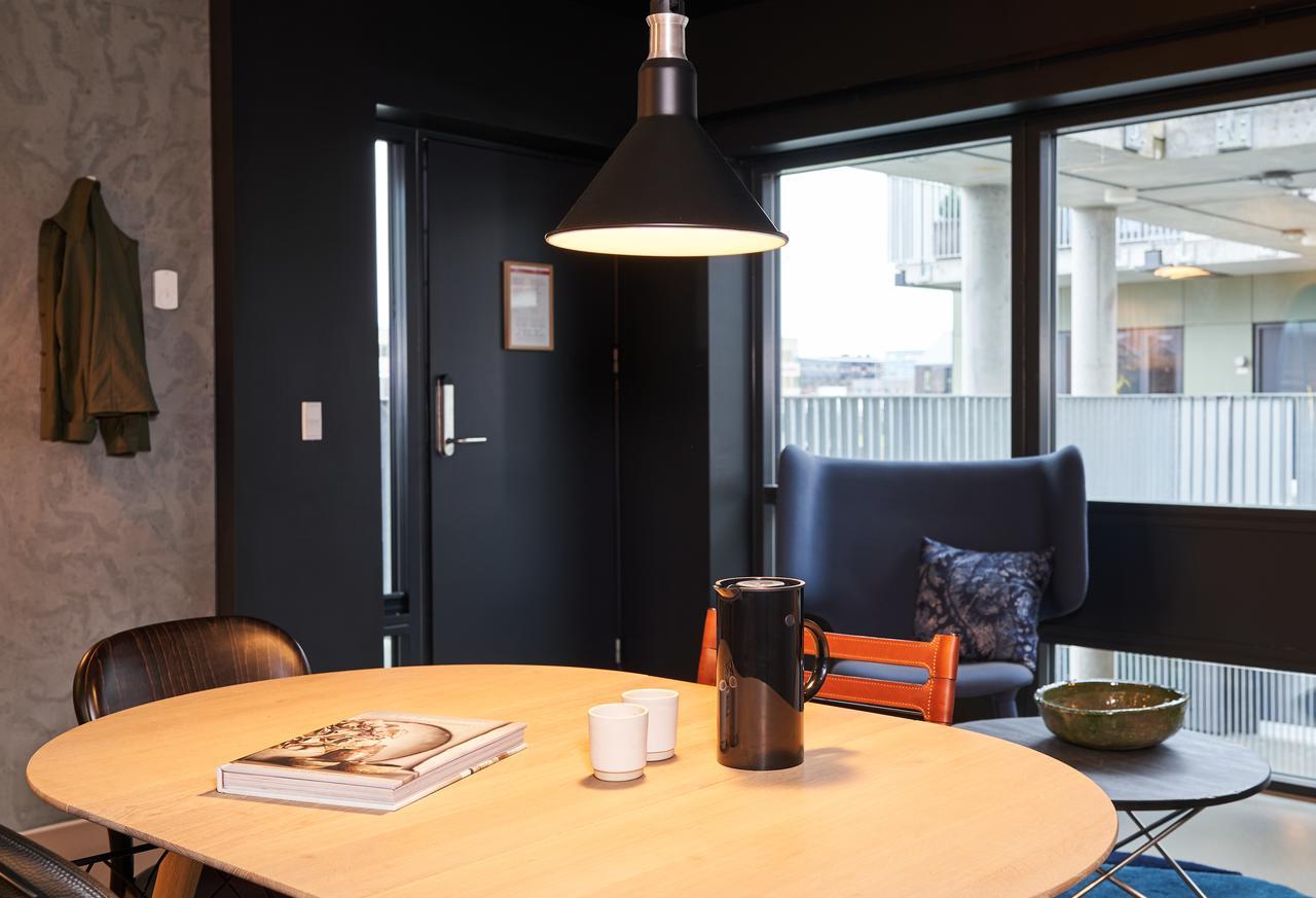 Table at Tueager Apartment, Aarhus N, Aarhus
