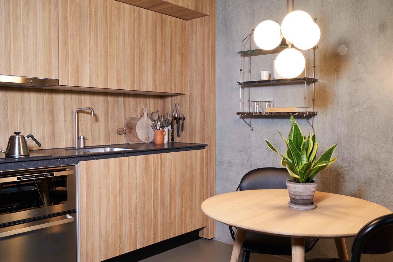 Dining area at Tueager Apartment, Aarhus N, Aarhus