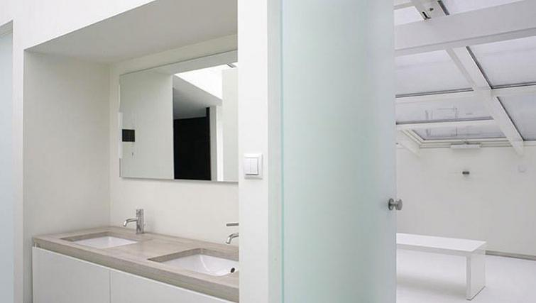 Bathroom at Kupa Apartments