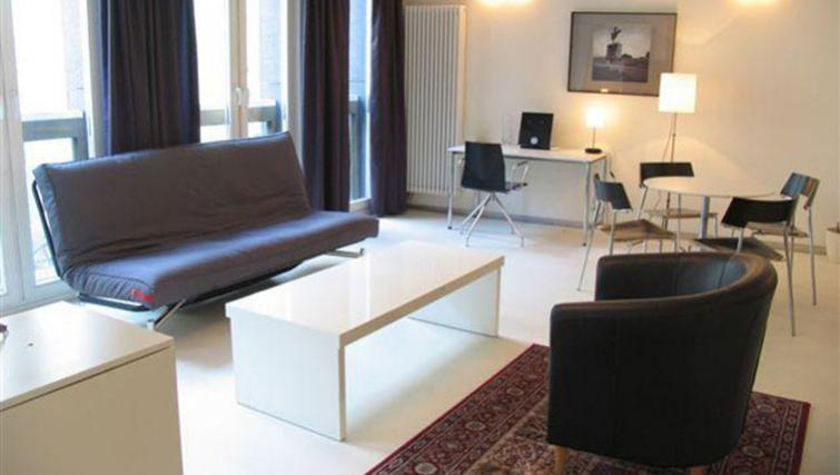 Charming living area in Kupa Apartments