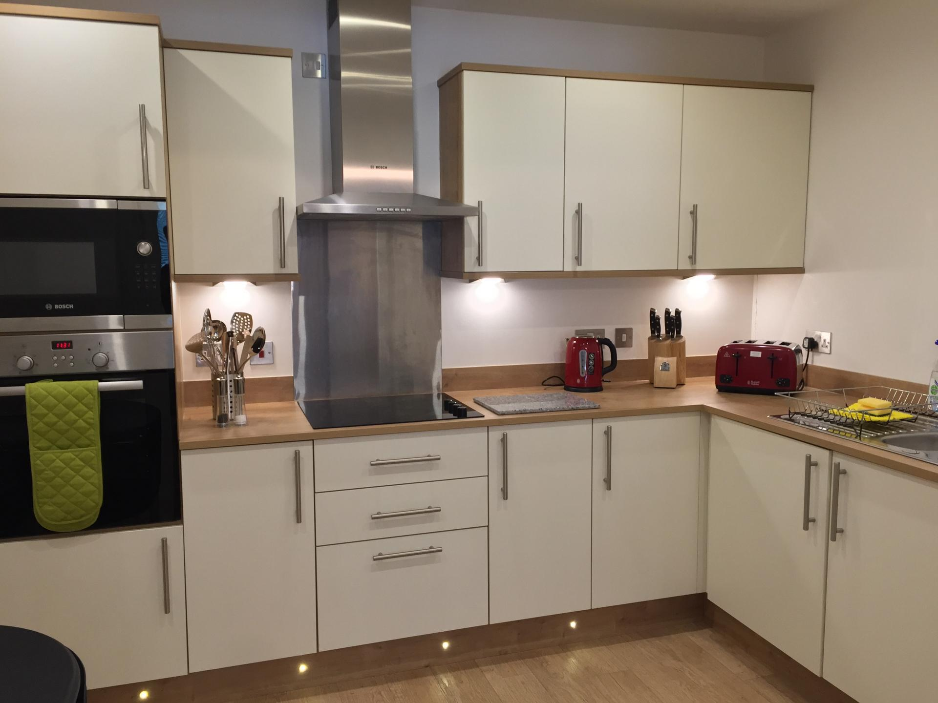 Kitchen at Hedgefield Apartments, Centre, Inverness