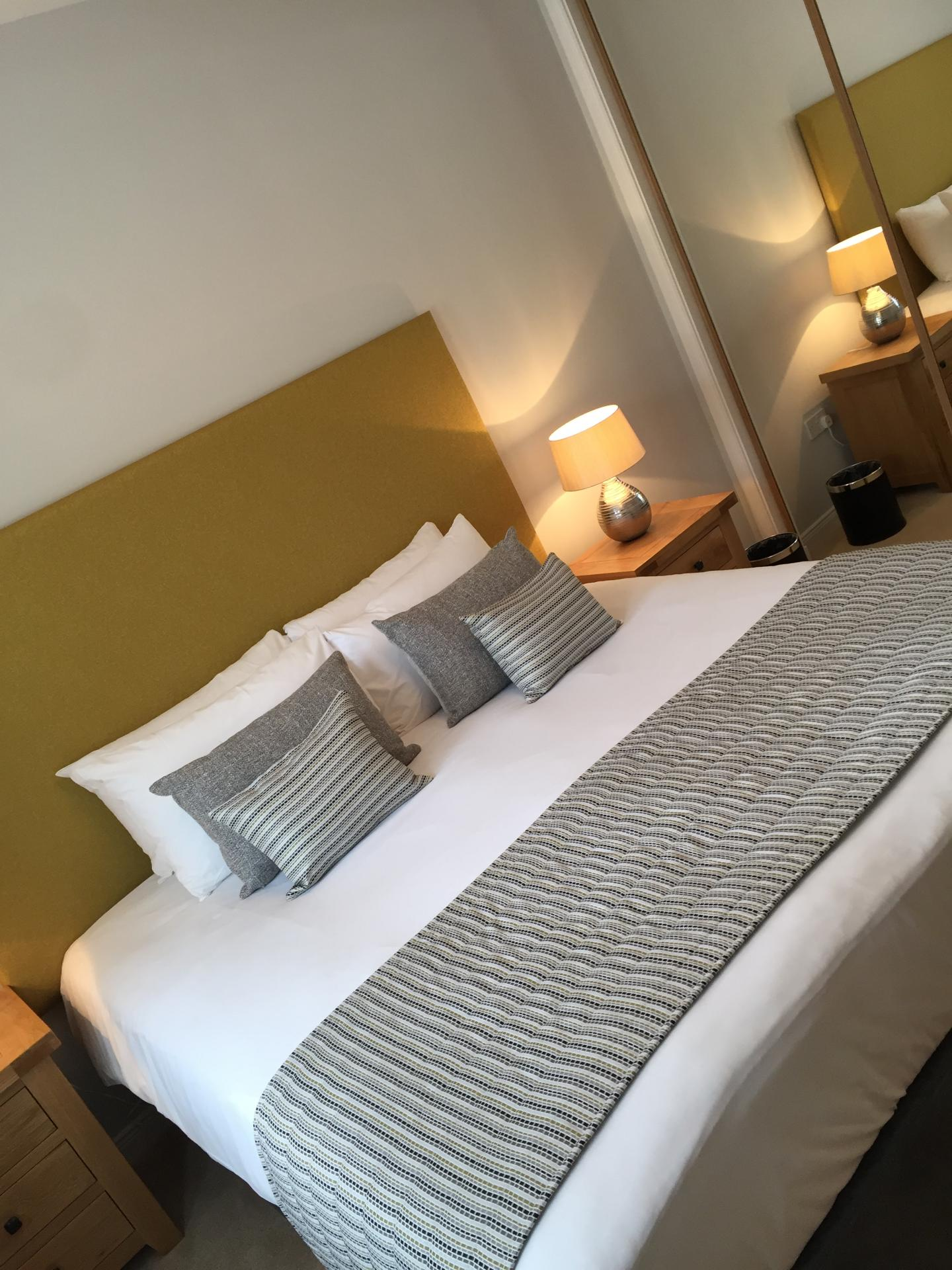 Bedroom at Hedgefield Apartments, Centre, Inverness