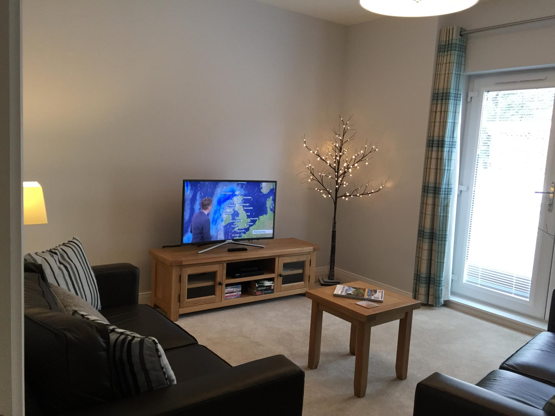 TV at Hedgefield Apartments, Centre, Inverness